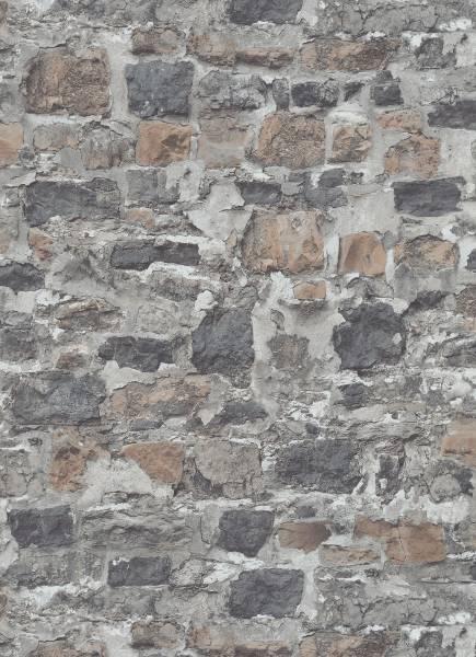 Vliestapete Industrial Mauer grau 1008410 Instawalls 2 Erismann 3,48€//1qm